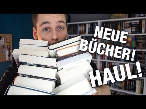 ACHTUNG! Ganz viele neue Bücher! | BOOK HAUL | Phils Osophie