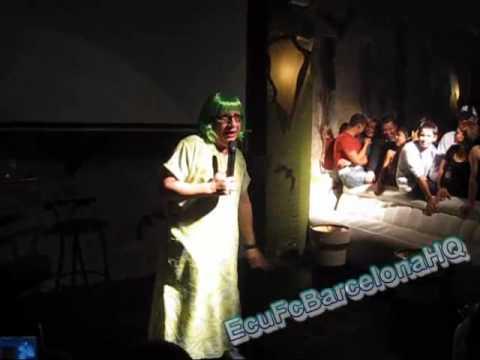 El Show de la vecina (Tomas Delgado) en Igualada , Barcelona , España 2010 PART 3/9