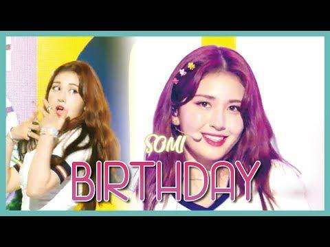 [HOT] SOMI - BIRTHDAY, 전소미 - BIRTHDAY Show Music Core 20190629