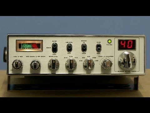 SUPER STAR 3900 MK1 / CB-HAM-Radio