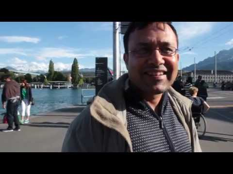 Vikram From Kolkata Talks About His Visit To Switzerland