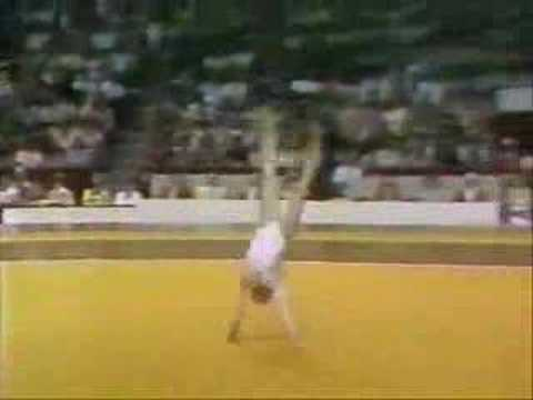 Nadia Comaneci Video