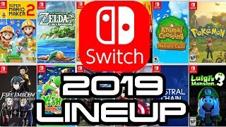 Nintendo Switch Insane 2019 Lineup!