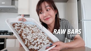 Finally Trying Song of Style's Raw Bar Recipe   Healthy Tasty Snacks ?