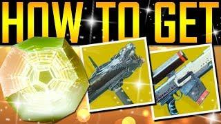 Destiny 2 - HOW TO GET EXOTIC ENGRAMS!
