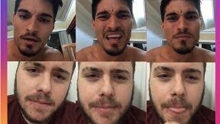 MATHI DOSOGAS DISCUT3 EN VIVO CON EX INTEGRANTE DE DOSOGAS JUANPA BARBOT  from Youtubers Instastories