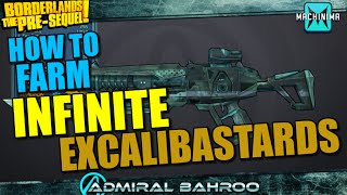 Borderlands The Pre-Sequel: How to get INFINITE Excalibastards on 1 Character!