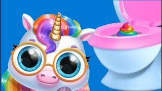 Fun New Born Pony Care Kids Game - My Baby Unicorn - Cute Pet Care & Makeover Games By TutoTOONS