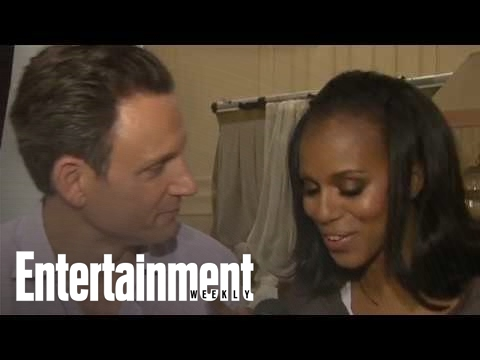 Scandal exclusive video: Kerry Washington and Tony Goldwyn trade roles!