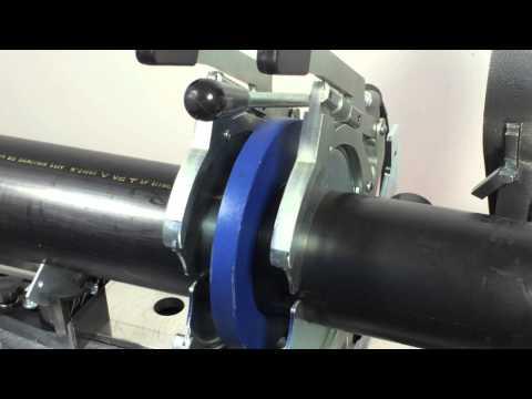 HDPE machine butt-welding