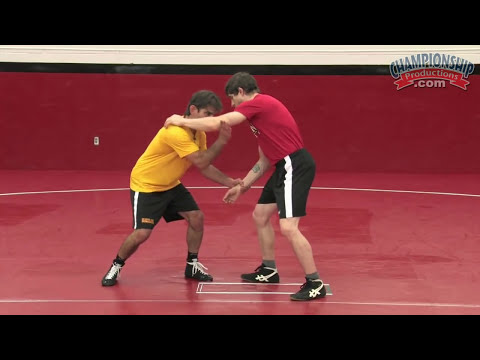Leg Attacks from a Dominant Wrist Control Position (Includes Left Leg Lead Techniques)