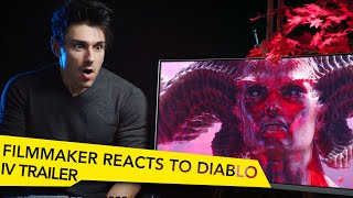 FILMMAKER REACTS TO DIABLO 4 CINEMATIC TRAILER!