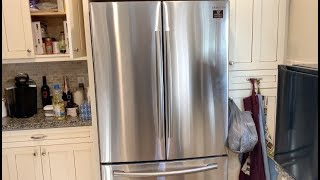 01. How to install a Samsung French door refrigerator