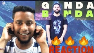 Ganda Banda reaction | fotty seven ft AkA Nick | Gajha vlogs