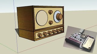 Tivoli Audio Model One WebRadio underpiece with Omega2