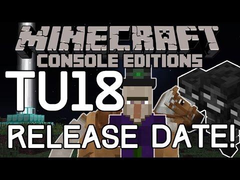 Minecraft: TU18/TU19 RELEASE DATE! HORSE UPDATE NEWS (Xbox & Playstation)