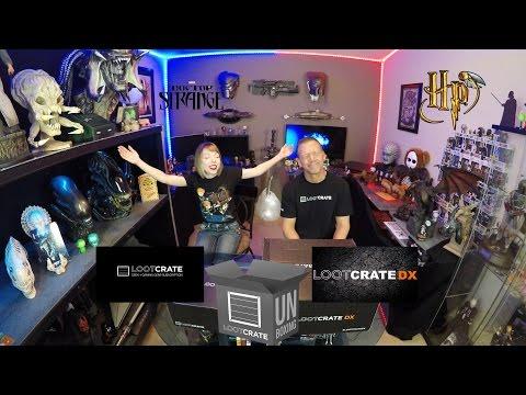 Mega Loot Crate DX and Core Crate Unboxing - November 2016 - Magical   Guru Reviews