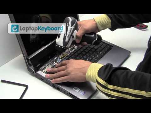 dell inspiron laptop keyboard installation replacement guide 1545 1500 remove replace install Tear Down Dell Inspiron 1720 Laptop Dell Inspiron 1720 Webcam