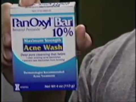 Nathan Reedy's Soap Commercial - PanOxyl Bar Acne Wash