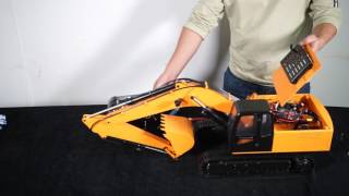 1/12 Scale Earth Digger 4200XL Hydraulic Excavator (RTR) Video Tutorial