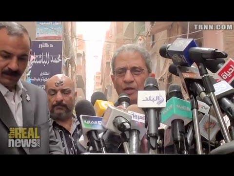 Amr Moussa makes Bid for Egypt's Presidency