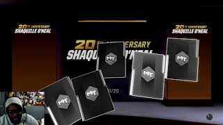 NBA 2K19- MYTEAM LOOKING TO PACK PINK DIAMOND SHAQ!! AND GIVEAWAY!!