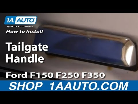 How To Install Replace Tailgate Handle Ford F150 F250 F350 87-96 1AAuto.com