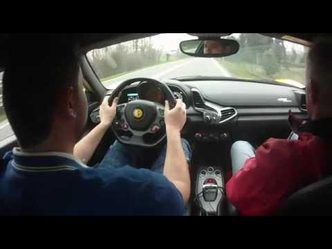 Ferrari test drive 2017