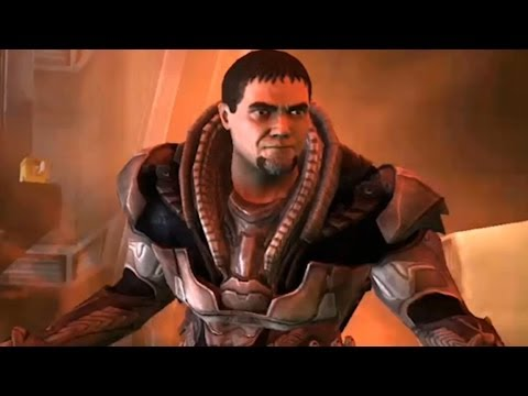 Injustice: Gods Among Us Android: Man of Steel Zod Super Attack Moves [ANDROID] [Gameplay]