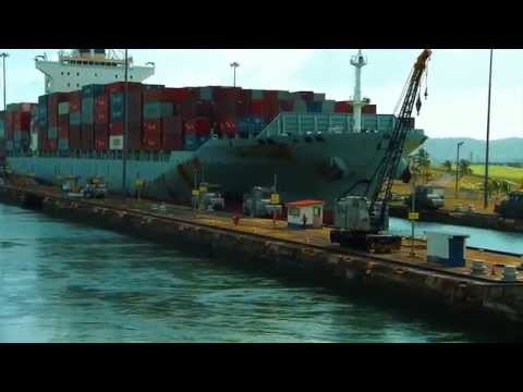 Panama Canal Post Panamax - Trailer
