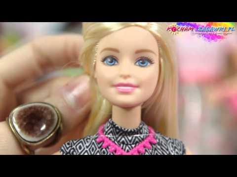 Barbie Fashioistas / Barbie Modne Przyjaciółki - Fashion Doll / Modna Lalka - DFT85 CLN59 - Recenzja