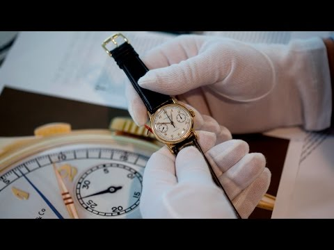 Previewing Christie's Patek Philippe 175 November 9 Auction
