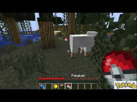 Pokemobs 1.1 Minecraft Mod