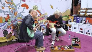 NAMM 2018 | Adam Levy & Mike Miller live @ the JAM pedals booth #2