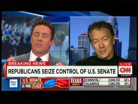 Sen. Rand Paul Appears on CNN New Day- November 5, 2014