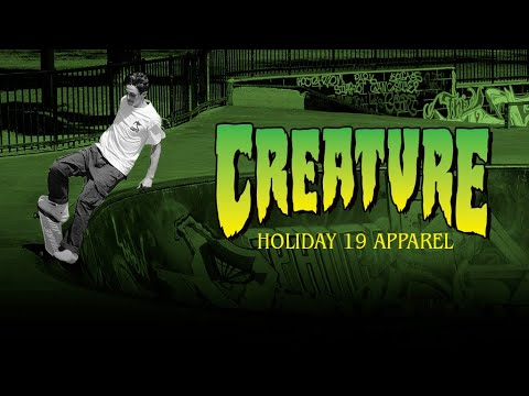 Creature Holiday '19 Apparel