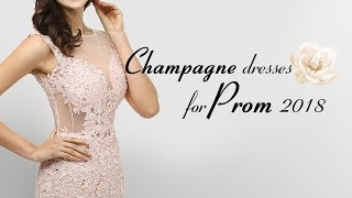 Champagne Prom Dress 2018, Shop New Champagne Gold Evening Dresses & Gowns At Millybridal.org