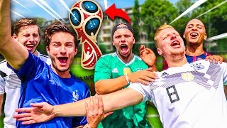Ultimative YOUTUBER WM Fußball Challenge !