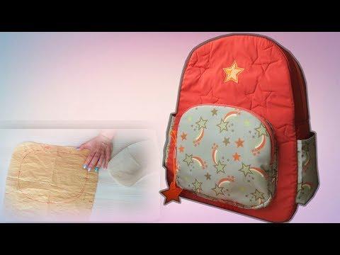 Как сделать рюкзак своими руками в школу 23