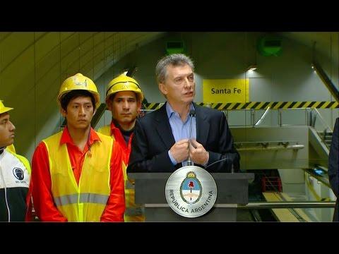 Macri: Voy a hablar de esto obsesivamente: hay que consumir menos energía