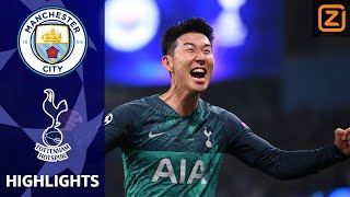 SPURS tegen AJAX na KRANKZINNIG DUEL 🔥😱| Man City vs Spurs | Champions League 2018/19|Samenvatting