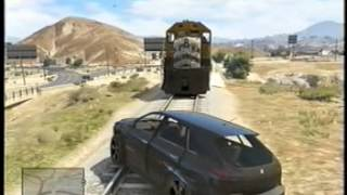 GTA 5 PLAYING WITH TRAINS