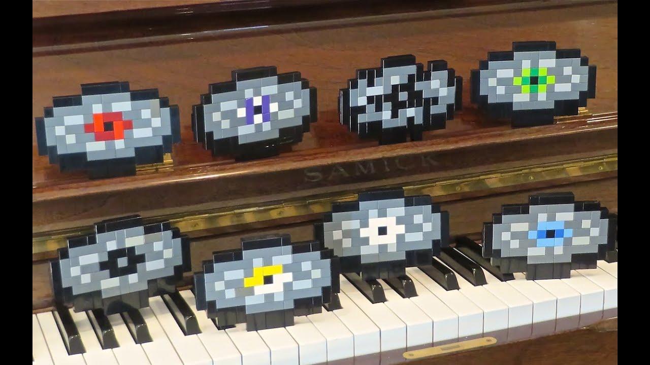 LEGO Music Discs Minecraft YouTube