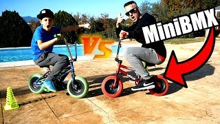 RETOS CON MINI BMX NICO VS PAPACHETADO