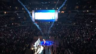 LA Lakers Starting Lineup Introductions — 12/8/18