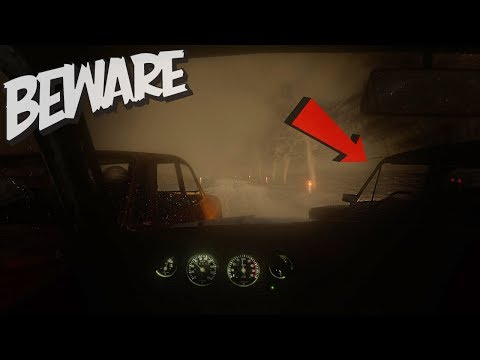 BEWARE - CHASED BY TWO CARS (Scary Driving Game)