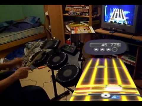 [ ROCK BAND 2 DRUMS EXPERT ] Warriors of time 238k 5 GS. 9928 shouts