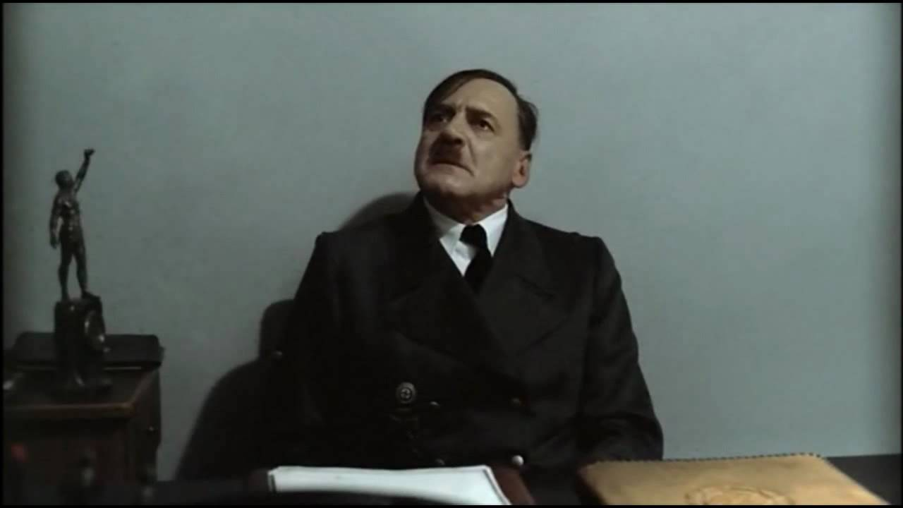 Hitler is informed David Cameron is Prime Minister of the United Kingdom