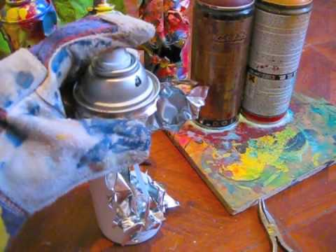 Graffiti Tutorial #5 Spraypaint Can Sculptures  Reskew
