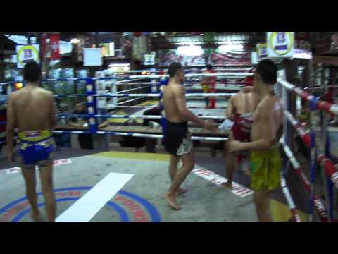 Muay Thai Clinching Image 1